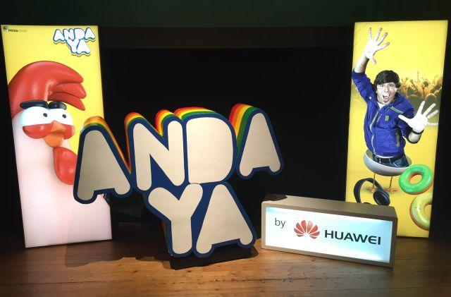 "Huawei - Roadshow programa radio ""Anda ya"""