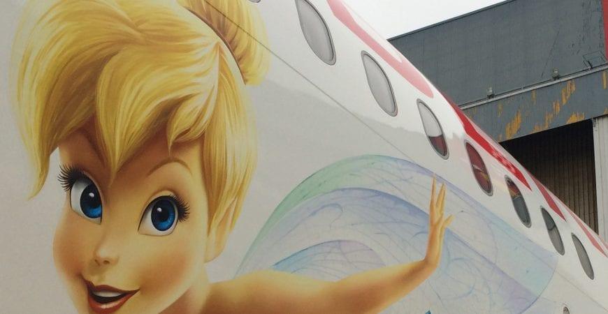 Presentación avión Disney