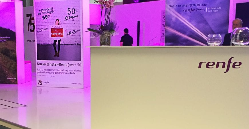 Stand Renfe B-Travel