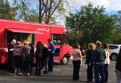 "Iberia Food Truck U.S.A: ""The taste of Spain"""