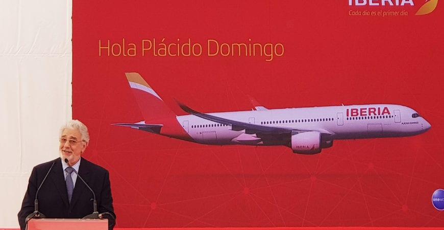 Bautizo A350 Plácido Domingo