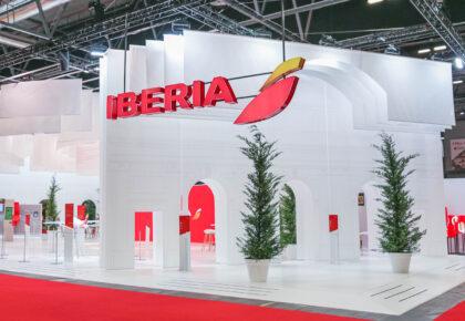 Stand de Iberia en Fitur 2014-2021