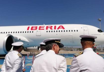 Bautizo del nuevo A350-900 Juan Sebastián Elcano