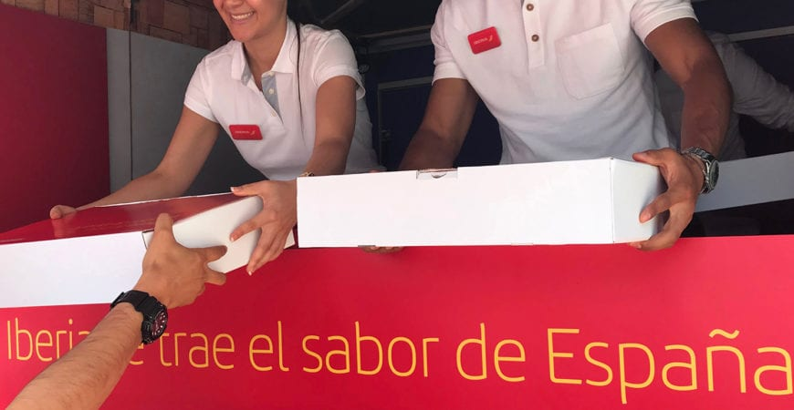 Iberia Food Truck Bogotá: «The taste of Spain»
