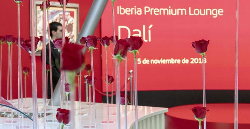 Iberia VIP Lounge MBFWM 2019