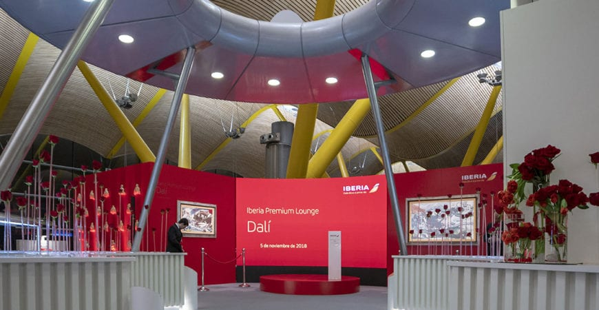 Inauguración Iberia Premium Lounge Dalí